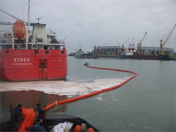 Oil Spill Response and Maritime Search and Rescue Exercise in Amirabad Port