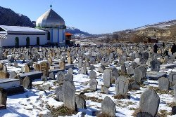 Historical cemetery of Sefid chah
